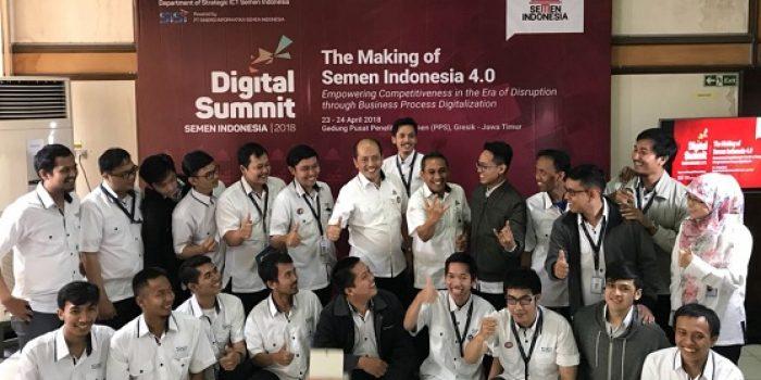 Digital Summit Semen Indonesia, Menjawab Tantangan Era Disrupsi