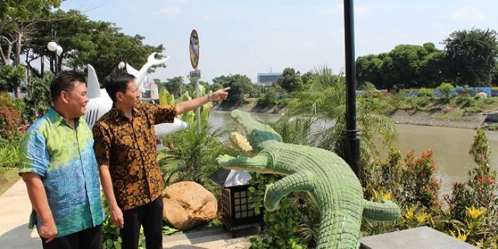 HUT Kota Surabaya, Sinar Mas Land Revitalisasi Kali Jagir