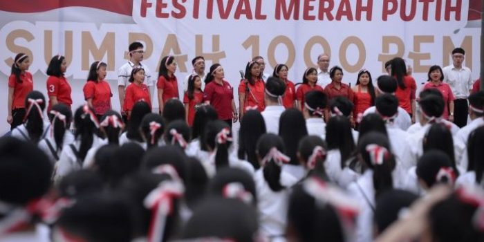 Sumpah 1000 Pemuda Pertahankan NKRI