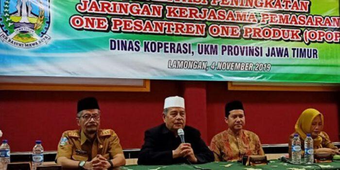 KH Abdul Ghofur Ponpes Sunan Drajat Dukung OPOP Gubernur Khofifah
