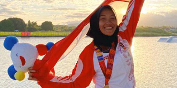 Setelah Medali Emas Ski Air SEA Games, Nur Alimah Targetkan Jadi Dokter