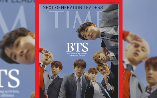 BTS cover Time Magazine