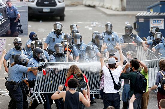 Minneapolis Police versus George Floyd