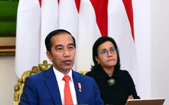 Presiden Jokowi dan Menkeu