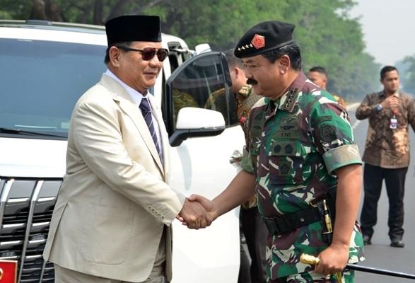 Menhan dan Panglima TNI