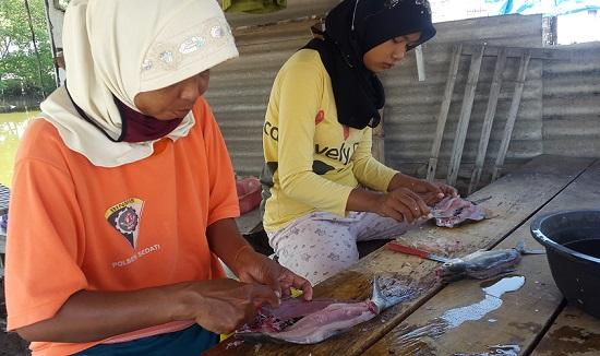 Cabut Duri Ikan Bandeng