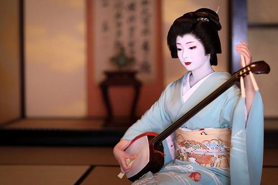 Geiko Kyoto Shamisen