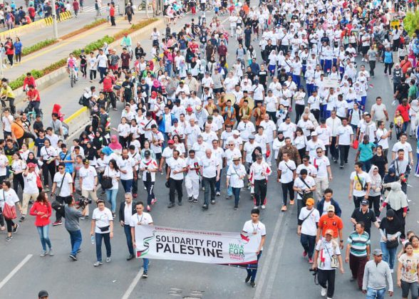 'Walk for Peace and Humanity'