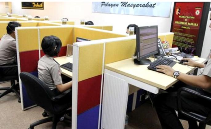 Polisi virtual Indonesia