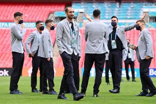Gli Azzuri Wembley London
