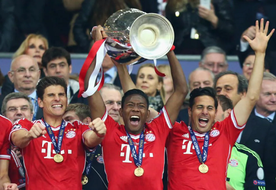 David Alaba Stadion Wembley Liga Champion 2013 Bayern Munchen