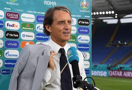 Gli Azzurri Roberto Mancini