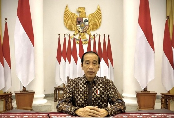 Presiden Jokowi PPKM Darurat