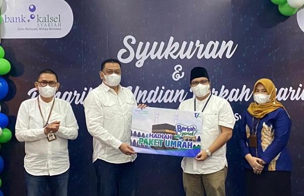 Plt Direktur Utama Bank Kalsel IGK Prasetya Bank Kalsel Syariah 17 tahun