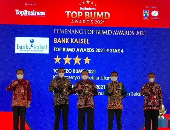 Bank Kalsel TOP BUMD Award 2021