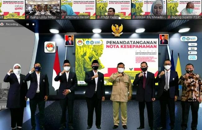 Menhan Prabowo
