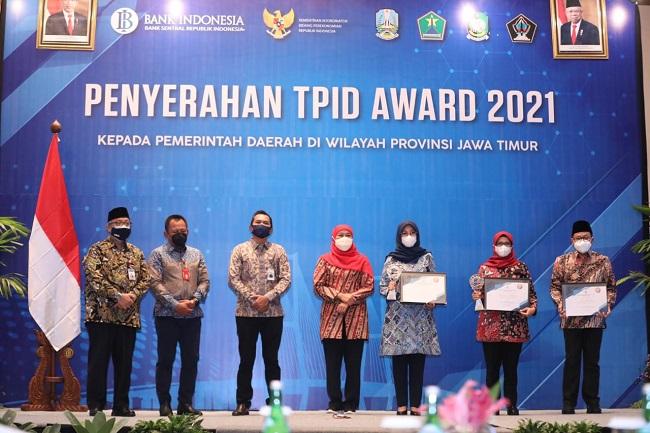 TPID Provinsi Jawa Timur nominator 'TPID Provinsi Terbaik 2021'.